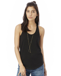 04031C1 Alternative Ladies' Shirttail Satin Jersey Tank