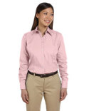 13V0114 Van Heusen Ladies' Long-Sleeve Silky Poplin