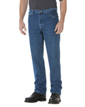 17293 Dickies Unisex Regular Straight Fit 5-Pocket Denim Jean Pant