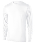 222525 Holloway Adult Polyester Long Sleeve Gauge Shirt