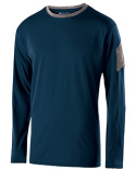 222527 Holloway Adult Polyester Long Sleeve Electron Shirt