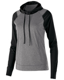 222739 Holloway Ladies' Dry-Excel™ Echo Performance Polyester Knit Training Hoodie