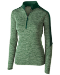 222742 Holloway Ladies' Electrfy 1/2 Zp Pullover