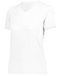 222751 Holloway Ladies' Dry-Excel™ True Hue Technology™ Swift Wicking V-Neck Training T-Shirt