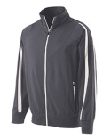 229142 Holloway Adult Polyester Full Zip Determination Jacket