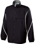229159 Holloway Adult Polyester Full Zip Hooded Circulate Jacket
