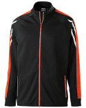 229568 Holloway Unisex Flux Temp-Sof Performance Fleece Warm-Up Jacket