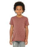 3413Y Bella + Canvas Youth Triblend Short-Sleeve T-Shirt