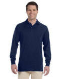 437ML Jerzees Adult 5.6 oz. SpotShield™ Long-Sleeve Jersey Polo