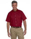 56850 Van Heusen Men's Classic Short-Sleeve Oxford
