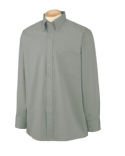 56900 Van Heusen Men's Long-Sleeve Blended Pinpoint
