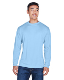 8401 UltraClub Adult Cool & Dry Sport Long-Sleeve T-Shirt