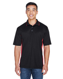 8406 UltraClub Men's Cool & Dry Sport Two-Tone Polo