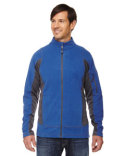 88198 Ash City - North End Men's Generate Textured Fleece Jacket