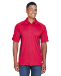 88657 Ash City - North End Men's Serac UTK cool-logik™ Performance Zippered Polo