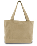 8870 Liberty Bags Seaside Cotton Canvas 12 oz. Pigment-Dyed Boat Tote