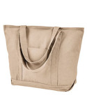 8879 Liberty Bags Seaside Cotton Pigment-Dyed XL Canvas Boat Tote