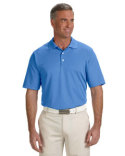 A170 adidas Golf Men's climalite® Texture Solid Polo