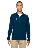 A195 adidas Golf Men's puremotion® Mixed Media Quarter-Zip