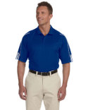 A76 adidas Golf Men's climalite® 3-Stripes Cuff Polo
