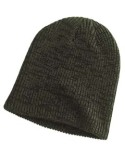BA524 Big Accessories Ribbed Marled Beanie