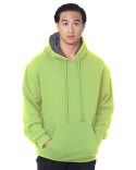 BA930 Bayside Adult Super Heavy Thermal-Lined Hooded Sweatshirt