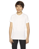BB201W American Apparel Youth Poly-Cotton Short-Sleeve Crewneck