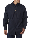 BP7010T Backpacker Men's Tall Nailhead Long-Sleeve Woven Shirt
