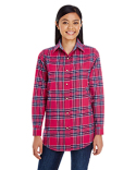 BP7030 Backpacker Ladies' Yarn-Dyed Flannel Shirt