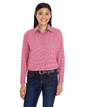 BP7036 Backpacker Ladies' Yarn-Dyed Micro-Check Woven