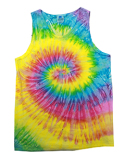 CD3500 Tie-Dye Adult 5.4 oz. 100% Cotton Tank Top