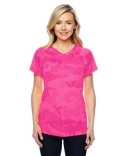 CW23 Champion Ladies' 4.1 oz. Double Dry® V-Neck T-Shirt