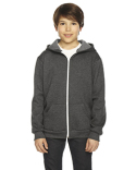 F297W American Apparel Youth Flex Fleece Zip Hoodie