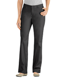 FP342 Dickies Ladies' Curvy Fit Straight Leg Flat Front Pant