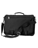 LB1011 Liberty Bags Corporate Raider Expandable Messenger Bag