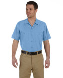 LS535 Dickies Men's 4.25 oz. Industrial Short-Sleeve Work Shirt