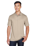 M345 Harriton Men's Advantage Snag Protection Plus IL Snap Placket Polo