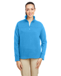 N17397 Nautica Ladies' Anchor Quarter-Zip Pullover