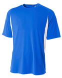 N3181 A4 Men's Cooling Performance Color Blocked T-Shirt
