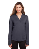 NE400W North End Ladies' Jaq Snap-Up Stretch Performance Pullover
