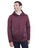 NE707 North End Men's Paramount Bonded Knit Jacket
