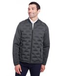 NE710 North End Men's Loft Pioneer Hybrid Bomber Jacket