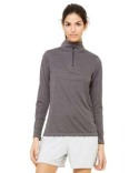 W3006 All Sport Ladies' Quarter-Zip Lightweight Pullover